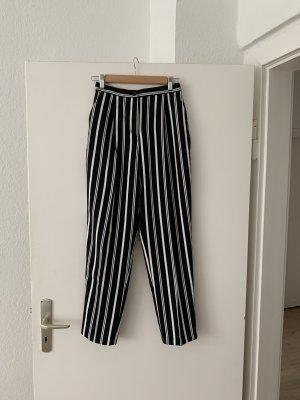 Monki Stripe Slim Casual Trousers