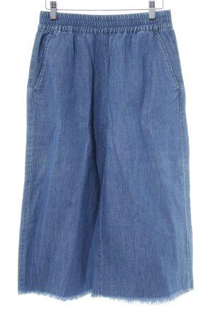 Monki Sweathose kornblumenblau Jeans-Optik