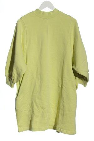 Monki Sweatkleid grün Casual-Look