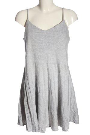 Monki Robe Sweat gris clair style décontracté