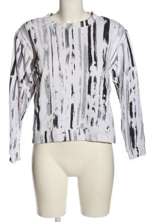 Monki Sweatshirt Allover-Druck Casual-Look