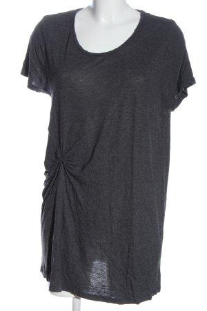 Monki Camiseta gris claro moteado elegante