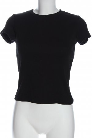 Monki T-Shirt schwarz Casual-Look