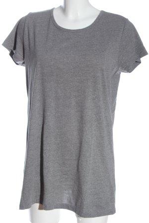 Monki Camiseta gris claro moteado look casual