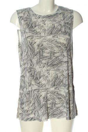 Monki Débardeur blanc cassé-gris clair imprimé allover style décontracté