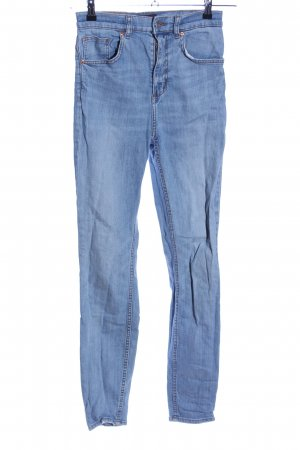 Monki Treggings blau Casual-Look