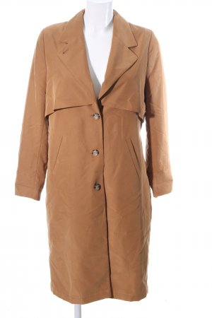 Monki Trenchcoat braun Business-Look