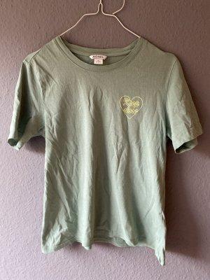 Monki Tshirt XS Grün