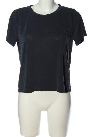 Monki T-Shirt blau Casual-Look