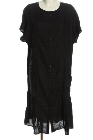 MONKL Blusenkleid schwarz Casual-Look