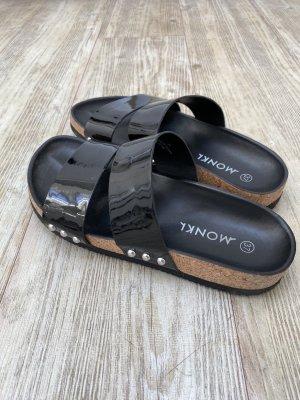 MONKL Sandales confort noir