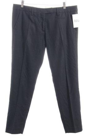 Monocrom 3/4-Hose dunkelblau klassischer Stil