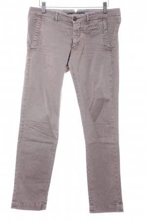 Monocrom 7/8-Hose camel Casual-Look