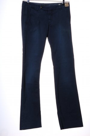 Monocrom Boot Cut Jeans blau Casual-Look