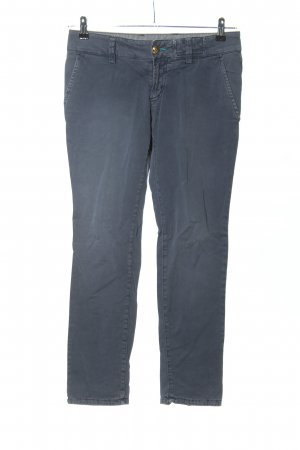 Monocrom Chinohose blau Casual-Look