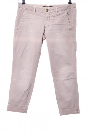 Monocrom Khakihose pink Casual-Look