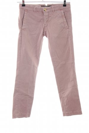 Monocrom Straight-Leg Jeans pink Casual-Look