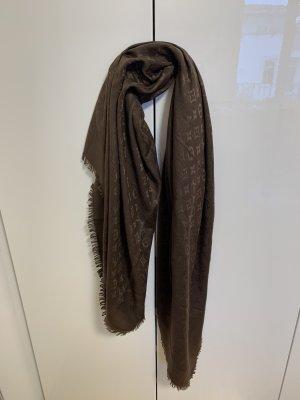 Louis Vuitton Sciarpa di seta marrone-marrone chiaro
