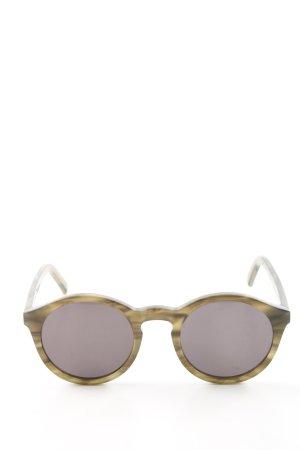 Panto Glasses primrose-brown casual look