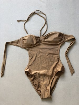 Doe & Rae Monokini bronze-colored