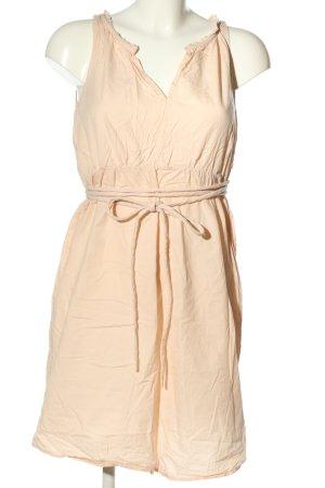 Monrow Mini Dress cream casual look