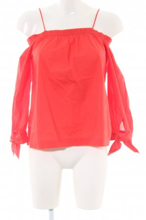 Monsoon Carmen-Bluse rot Casual-Look