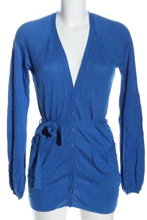 Monsoon Giacca in maglia blu stile casual