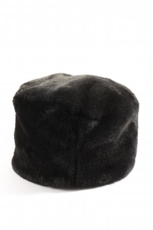 Monsoon Fur Hat black casual look