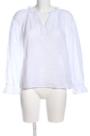 Monsoon Camicia blusa bianco stile casual