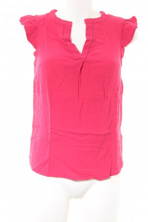Monsoon Kurzarm-Bluse pink Casual-Look
