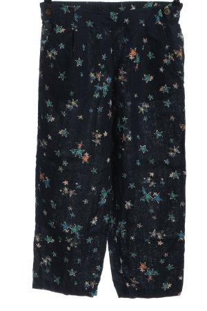 Monsoon Pantalone di lino stampa integrale stile casual