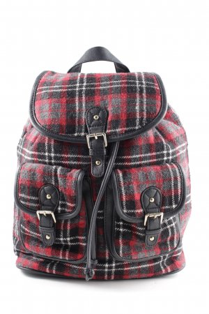 Monsoon School Backpack check pattern casual look