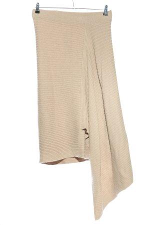 Monsoon Spódnica z dzianiny kremowy W stylu casual