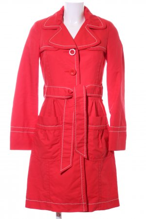 Monsoon Trenchcoat rot Casual-Look