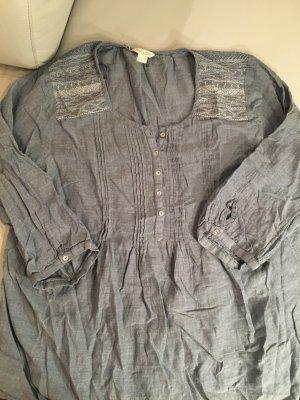 MONSOON Tunikabluse, Bluse mit Stickereien, Gr. 46, wie NEU