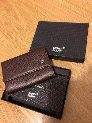 Montblanc Porte-cartes brun-blanc