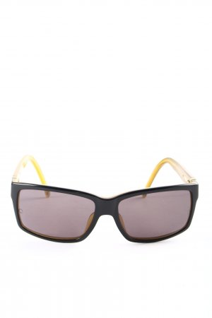 Montblanc Angular Shaped Sunglasses black-gold-colored business style