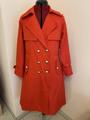Monte Cervino Trenchcoat Mantel in rot
