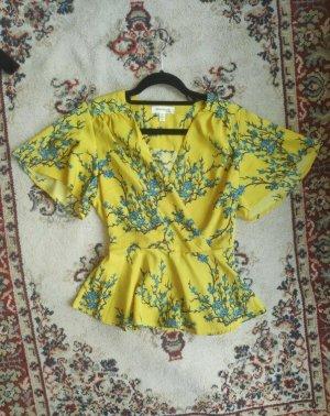 Monteau Kimono blouse veelkleurig