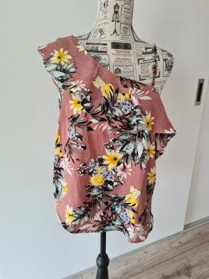 monteau top Shirt one shoulder Bluse 38 M