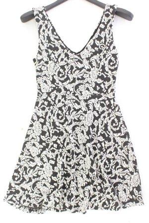 monteau Trägerkleid Größe S mit Blumenmuster mehrfarbig aus Polyester