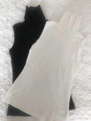 Montego Basic topje zwart-wit