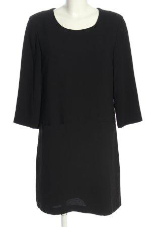 Montego A-Linien Kleid schwarz Business-Look