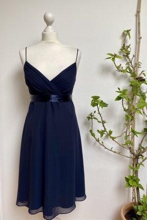 Montego Abendkleid Brautjungfer dunkelblau
