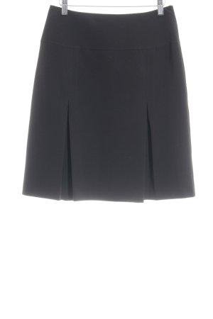 Montego Asymetryczna spódniczka czarny Prosty styl