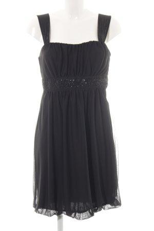 Montego Ballonkleid schwarz Elegant