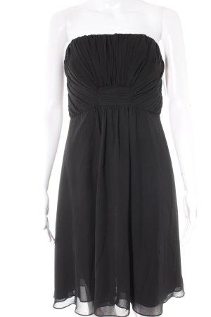 Montego Bandeaukleid schwarz Elegant