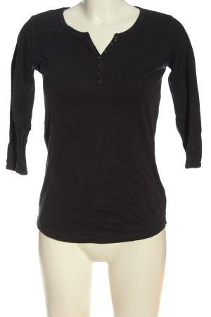 Montego Basic-Shirt schwarz Casual-Look