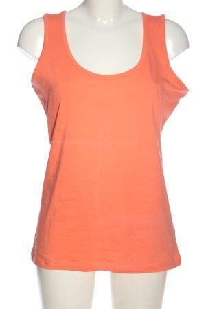 Montego Basic topje licht Oranje casual uitstraling