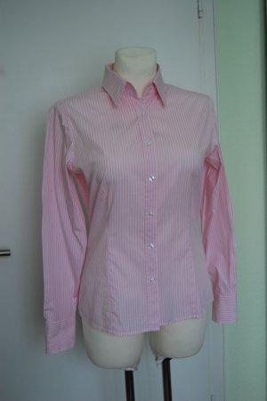 Montego, Blusenhemd Rosa gestreift, Gr 38
